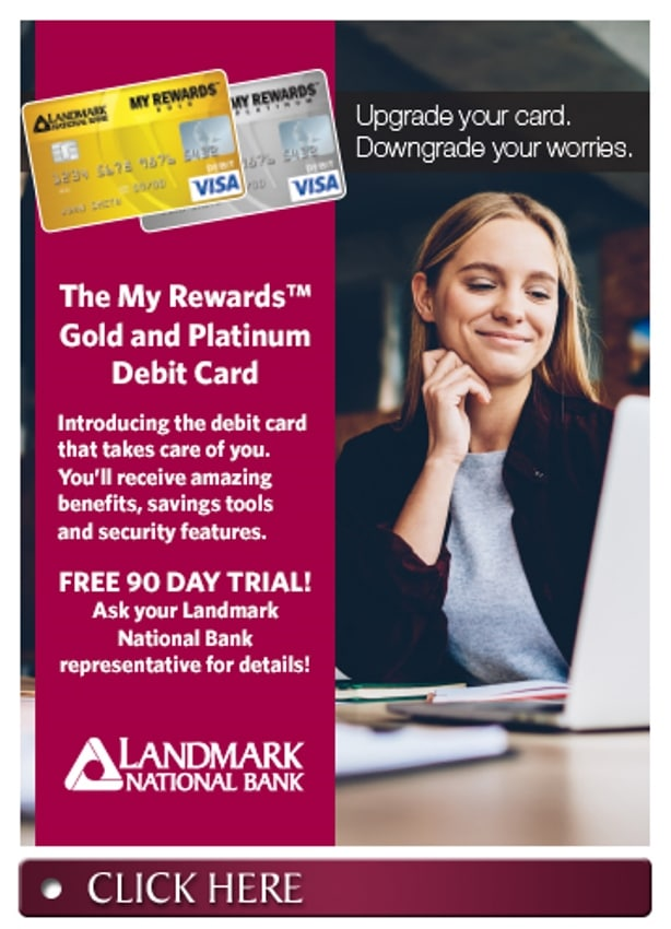 The My Rewards Gold and Platinum Debit Card