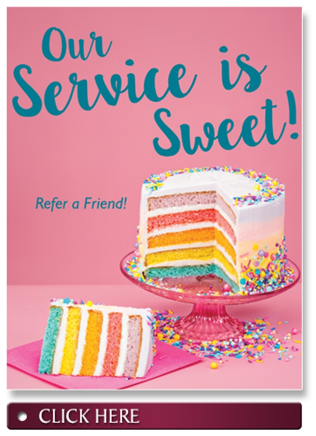 Our Service is Sweet