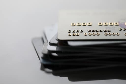 A stack of business payroll cards